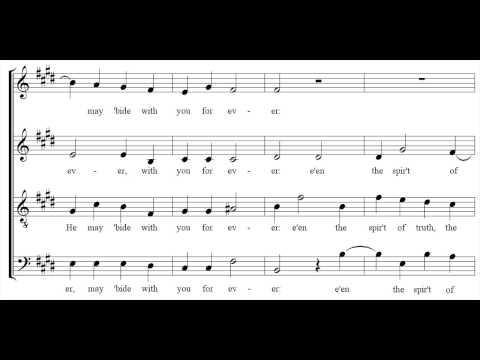 Thomas Tallis - If ye love me - The Cambridge singers