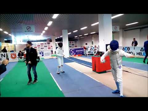 Helexpo Foil Eurocup 2017 - Thessaloniki - Equipes - 1/8 - Croatia 1 vs. Int. mix team