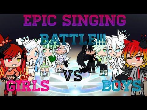 Singing battle*~^Girls VS