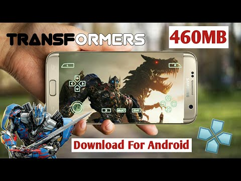 250MB Download Transformers New PPSSPP Game For Android L PSP Games L Transformers Games Android