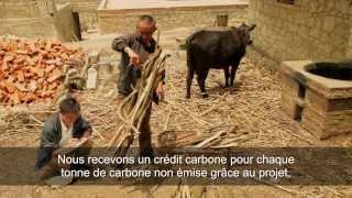 Les projets d'ID en Chine: biogaz, four econome et reforestation