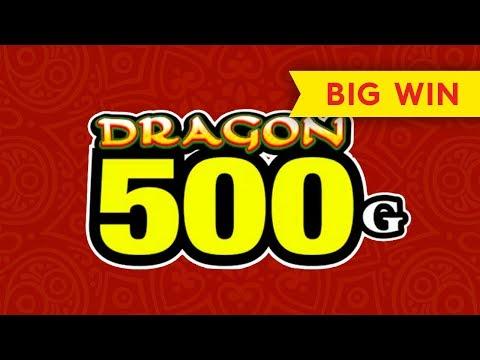 Dragon 500G Slot - BIG WIN BONUS! - 동영상