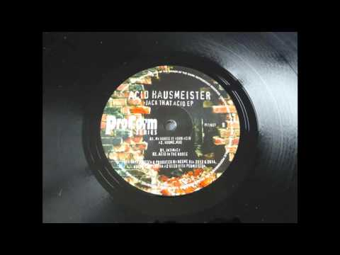 Acid Hausmeister -- My House Is Your Acid