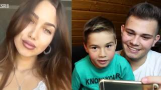 Musical.ly Don't Judge Me Challenge - Reaction with little Brother