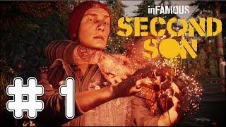 inFAMOUS: Second Son - Game Walkthrough - Part 1 - I