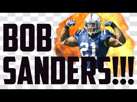 91 OVERALL BOB SANDERS GAMEPLAY - Madden 17 Ultimate Team