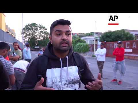 Asylum seeker in Italy reacts on World Refugee Day