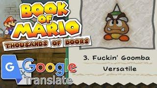 Book of Mario: Thousands of Doors [Google Translated TTYD]