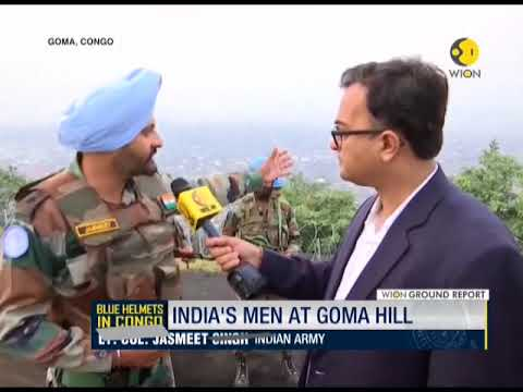 Blue Helmets in Congo: India's men at Goma Hill