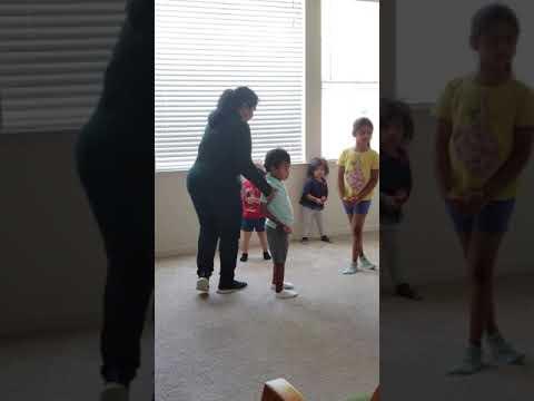 Morning routine at Little Friends Montessori school