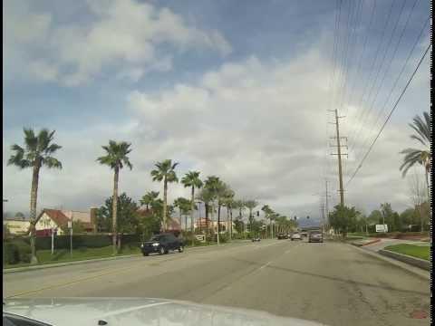 Loma Linda to Palm Springs Time-lapse