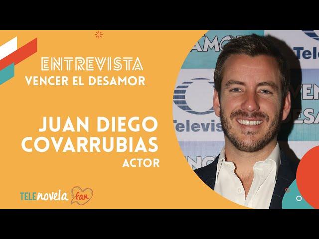 Juan Diego Covarrubias en Telenovela 'Vencer el Desamor'