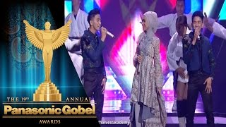 Kolaborasi Indah Nevertari Ft  Rizky & Ridho | Panasonic Gobel Awards 2016