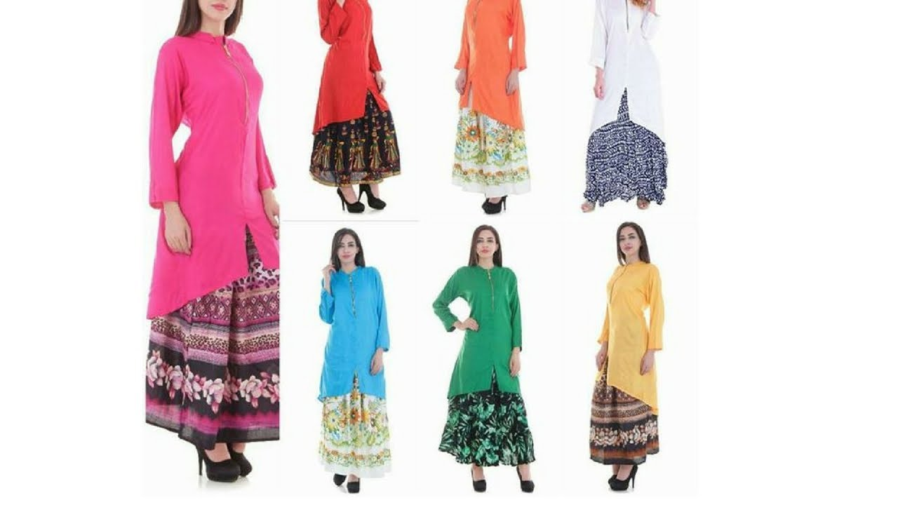2db292c544 Skirt Dresses With Shirt   Top and Short Kurti ( wedding