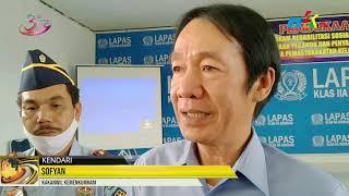 Bantu Rehabilitas Warga Binaan, Lapas Klas II A Kendari Bangun Kerja Sama