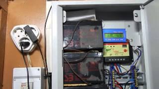 Небольшая солнечная система для дома (ССД) + самодельная лампа на светодиодах(Поддержать мой проект и..., 2014-12-31T18:31:28.000Z)