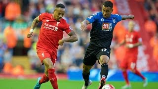 Clyne (Liverpool FC) vs Bournemouth - BPL 2015/2016