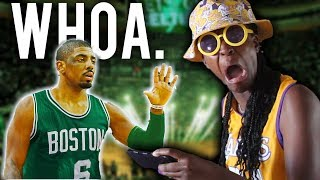 WHO WON THE KYRIE TRADE? LAKERS FAN REACTION TO THIS CRAZINESS!