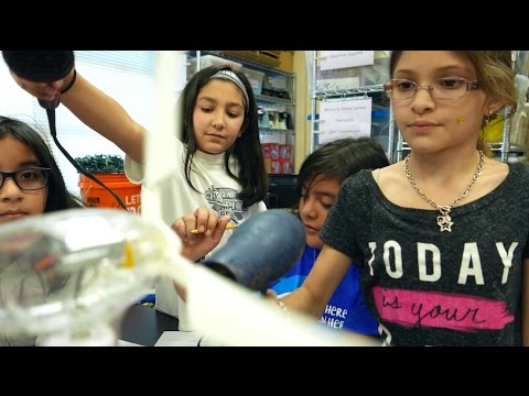STEM lessons made possible by NEEF  3 D printer and renewable energy