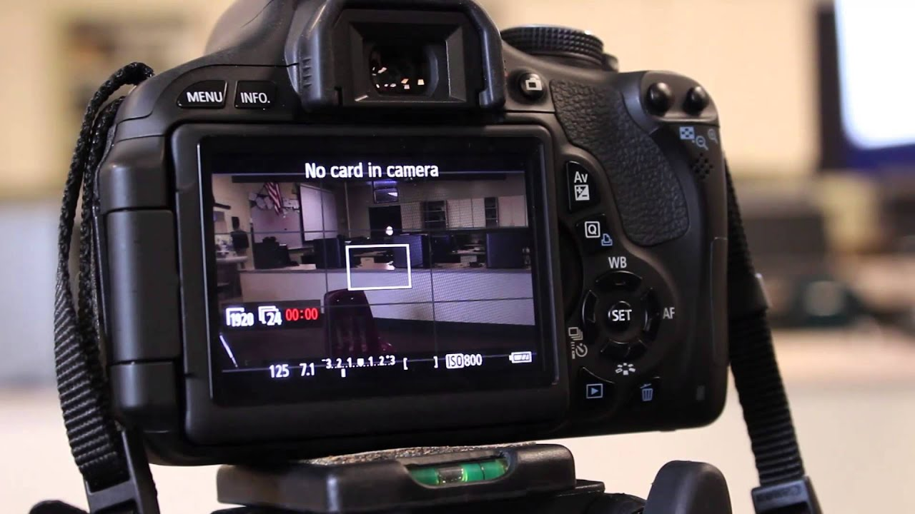 video mode and camera settings for canon t3i youtube rh youtube com Canon EOS Rebel T3i Manual Canon T3i Bundles