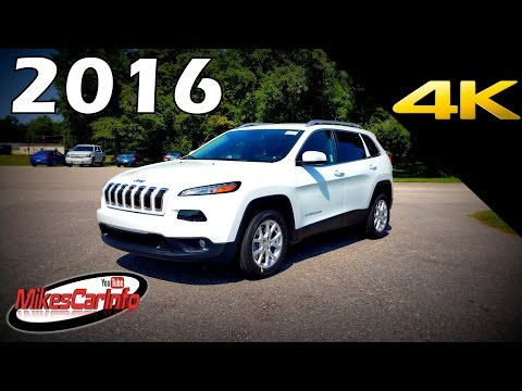 2016 Jeep Cherokee Latitude - Ultimate In-Depth Look in 4K