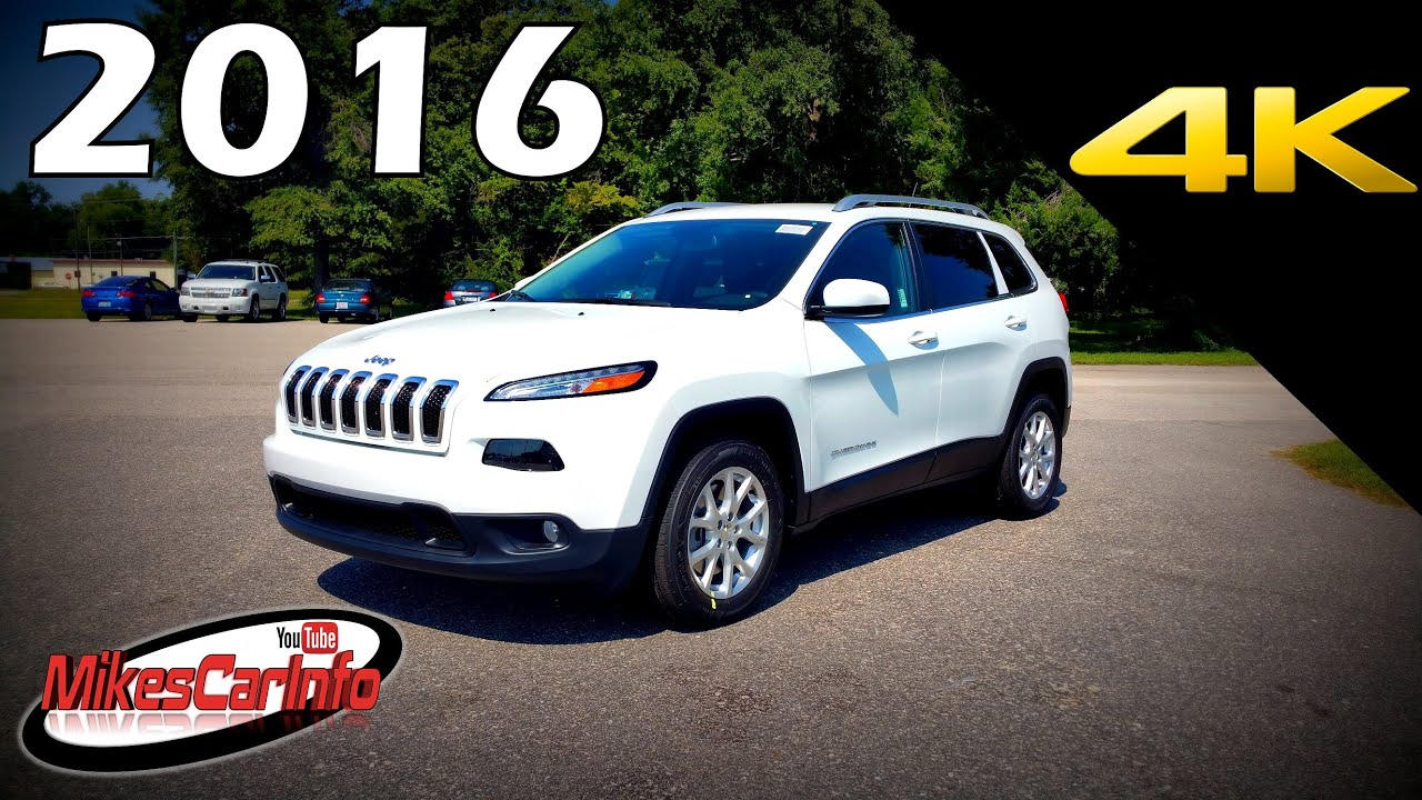2016 jeep cherokee latitude ultimate in depth look in 4k youtube. Black Bedroom Furniture Sets. Home Design Ideas