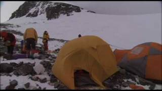 Camp 4 on the South Col of Everest