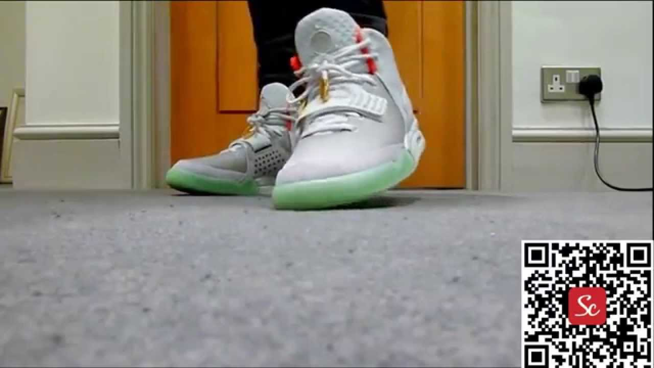 9aafa13398160 SoleCool App Nike Air Yeezy 2 Wolf Grey Pure Platinum Review - YouTube