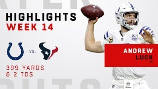 Andrew Luck Highlights vs. Texans