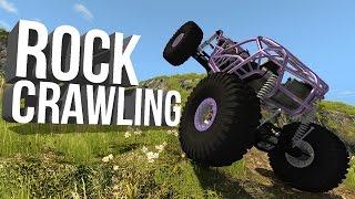 BeamNG Drive Gameplay - Rock Crawling - Crawl Central - Rock Bouncer