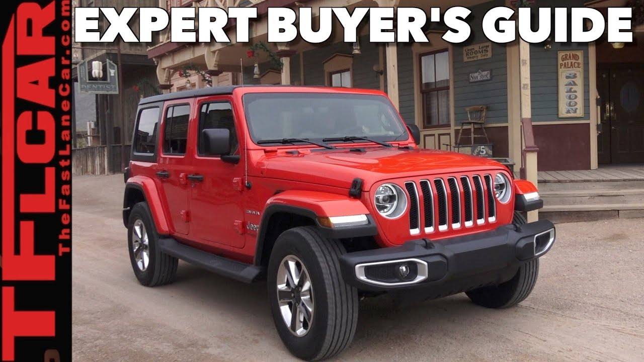 Buy Jeep Wrangler >> Watch This Before You Buy A New Wrangler 2018 Jeep Wrangler Jl Expert Buyer S Guide