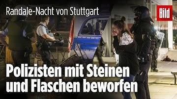 So kam es zur Randale-Nacht von Stuttgart: Alles begann mit einer Routine-Kontrolle