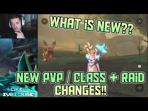 PvP / Raid / Class Changes + More!! New Update LIVE Review!! | Crusaders of Light