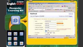 how to create email id in rediff mail