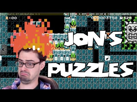 Mario Maker - Epic Exploration Puzzles by Jon | Powerup Deferral and The Shell of Reckoning