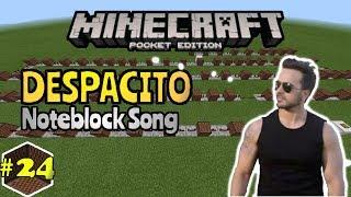 Despacito[Luis Fonsi] - Noteblock song#24 - Minecraft PE(Pocket Edition)[Bahasa Indonesia]