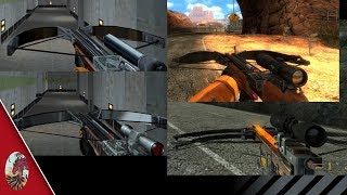 Half-Life Crossbow Comparison