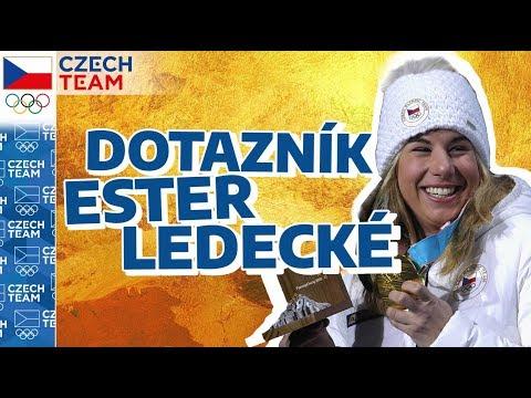 Co MILUJE Ester Ledecká? | Zlatý dotazník olympijské hrdinky