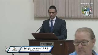 29ª Sessão Ordinária - Vereador Sergio Leiteiro