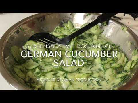german-cucumber-salad-|-gurkensalat-mit-dosenmilch