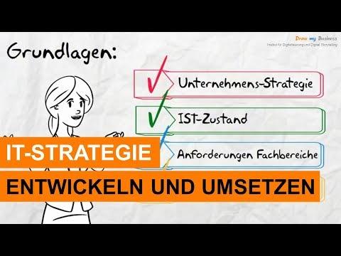 IT-Strategie / Strategisches IT-Management: IT-Strategien entwickeln und umsetzen