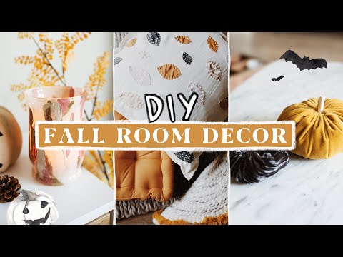 DIY Fall + Autumn Room Decor (Anthropologie Inspired) 🍂🍁🦊