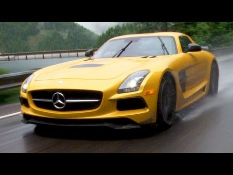 Badder Than Bigfoot! 2014 Mercedes-Benz SLS AMG Black Stalks Pacific Northwest - Epic Drives Ep. 20