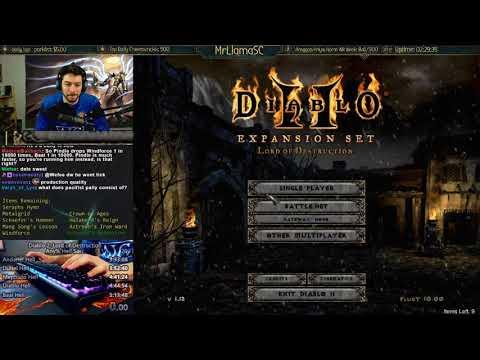 Diablo 2  Holy Grail Sorc 03172018