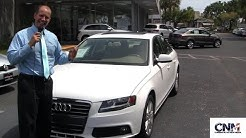 2011 Audi A4 (White) CPO at Audi Lighthouse Point - by John D. Villarreal