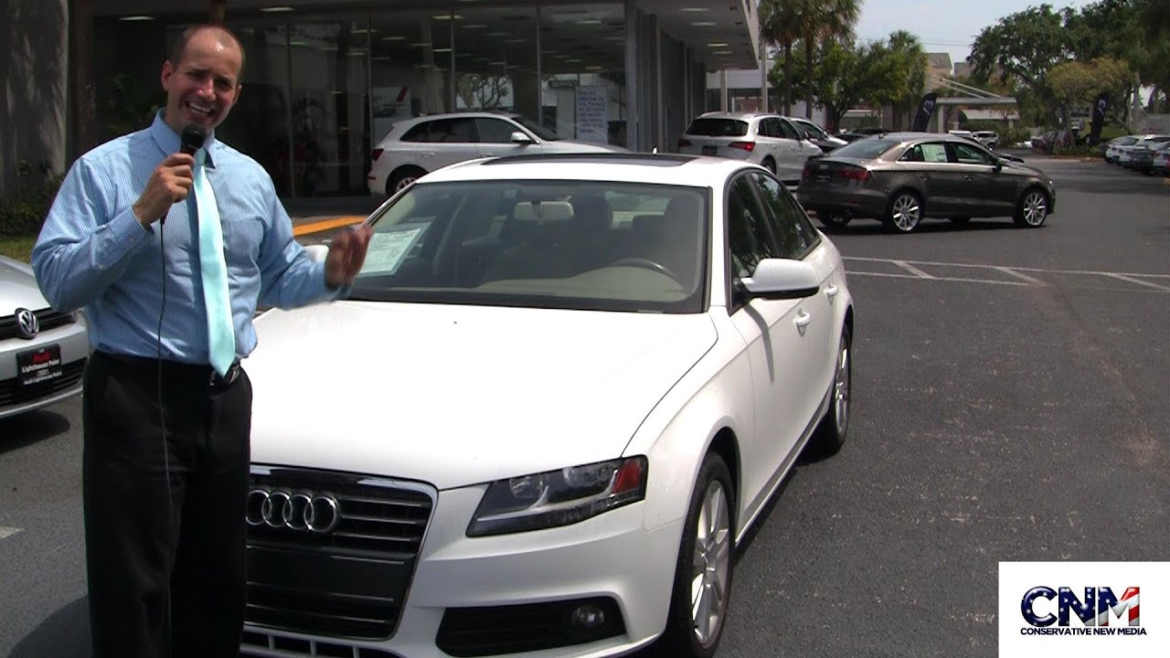 2011 Audi A4 White CPO at Audi Lighthouse Point by John D