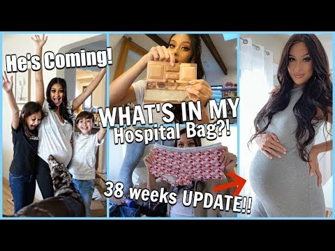 He&39;s COMING Hubby had to leave Pregnancy Update  What&39;s in My Hospital Bag Mini Haul