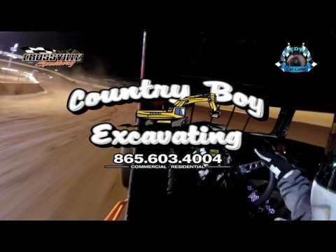 #3 Chris Flatt - Dwarf - 4-14-17 Crossville Speedway - In-Car Camera