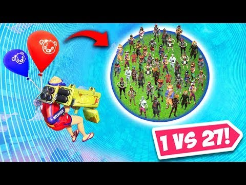 *WORLD RECORD* 1 V 27 PLAYER CLUTCH! - Fortnite Funny Fails and WTF Moments! #429