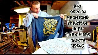 How I made $1,000 PROFIT with plastisol Heat Transfer | Make